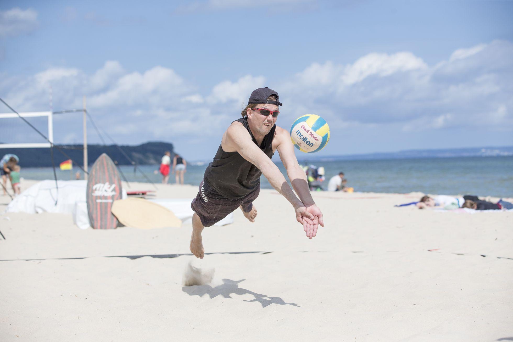 Goehren Volleyball1 Sportstrand & Wassersport