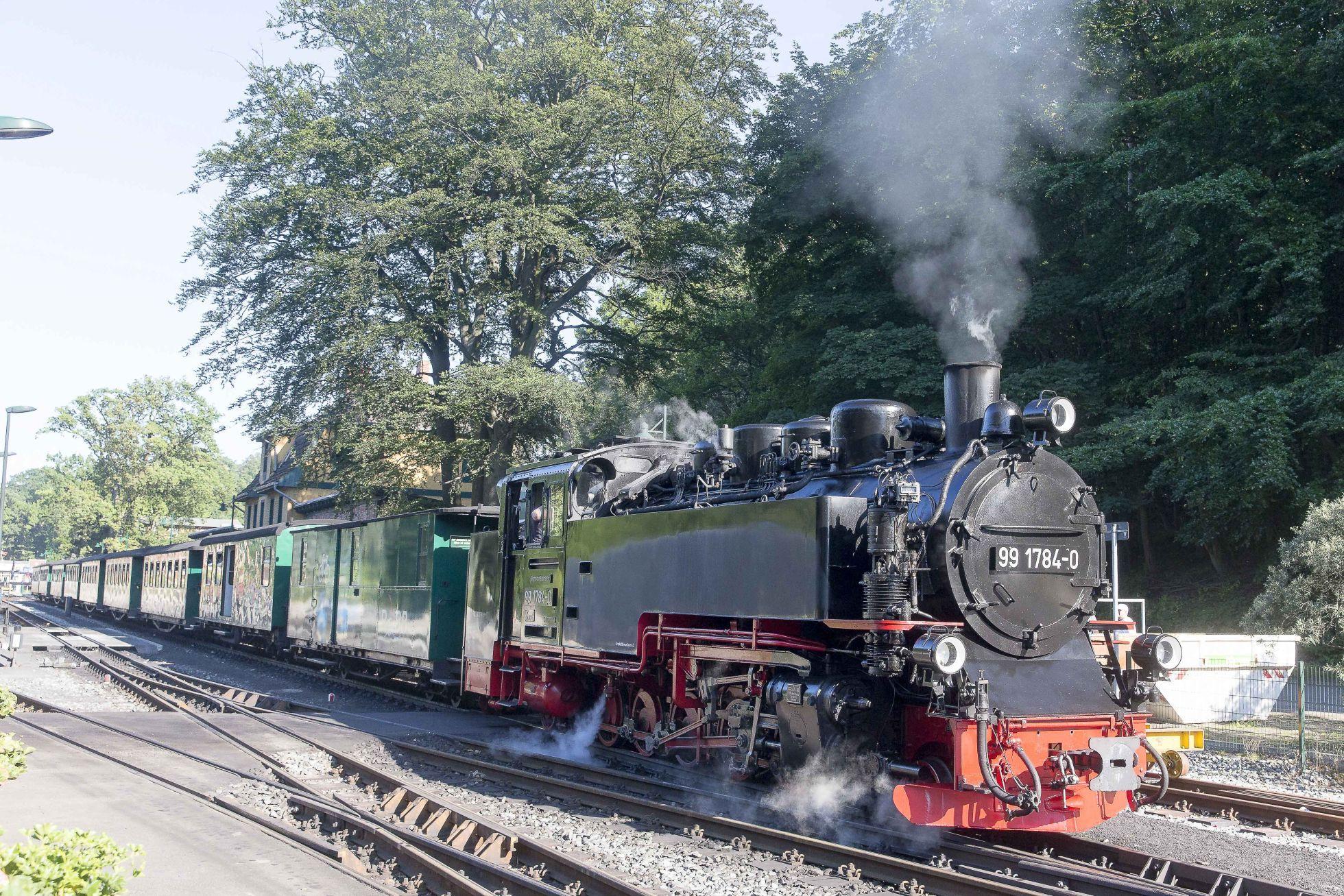 Goehren Rasender Roland2 Schmalspurbahn