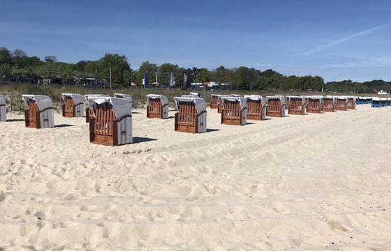 Strandkorbvermietung - Andre Hasse - Strandansicht