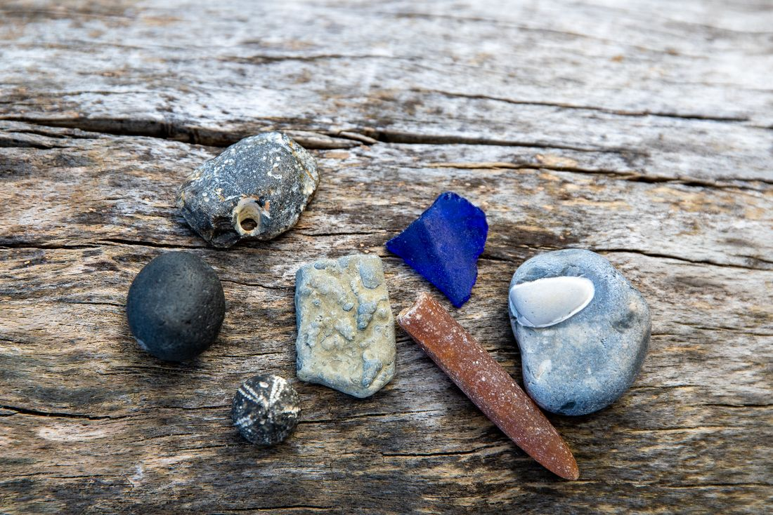 Schätze im Sand
