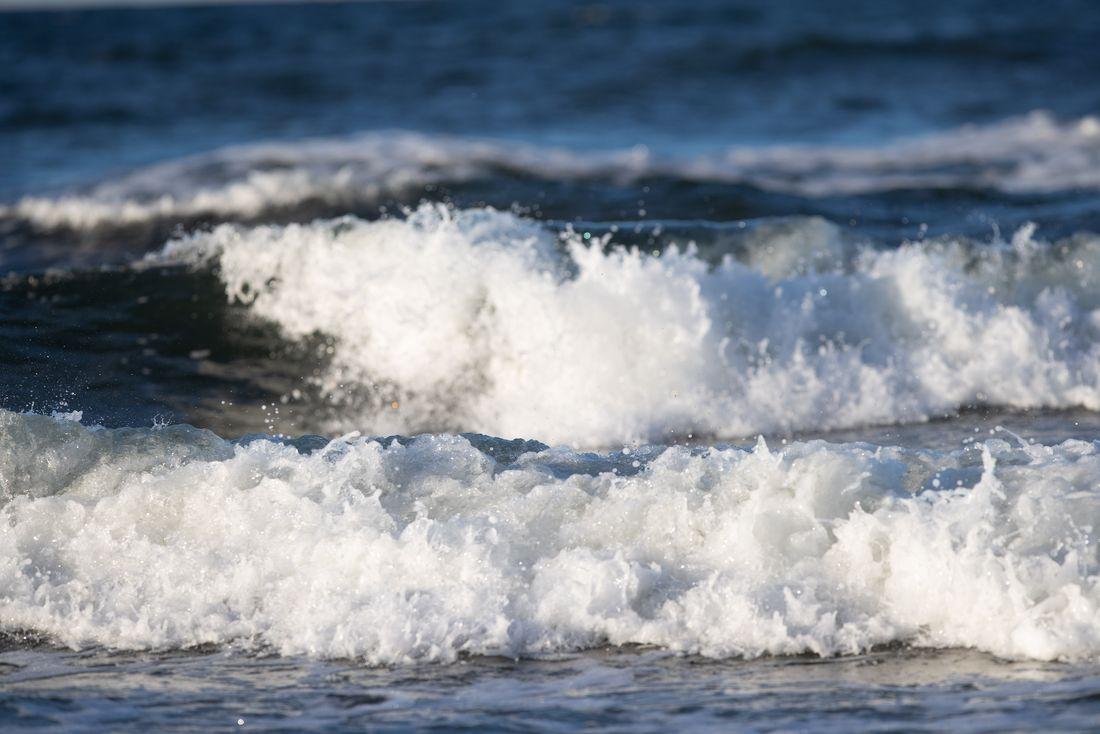 Wellen und Strömung