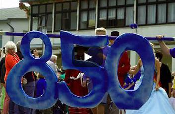 Festumzug zur 850 Jahrsfeier