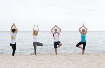 Entspannung und Kontrolle mit Yoga