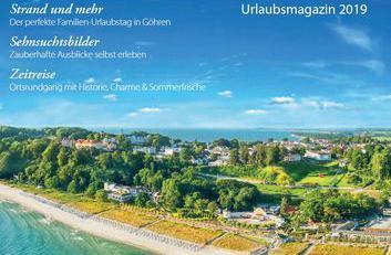 Ostseebad Göhren - Urlaubsmagazin 2019