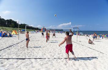 Spaß & Spiel mit Beach- oder Volleyball