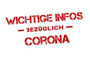 Regelungen infolge des Corona-Virus Stand 10. März 2021
